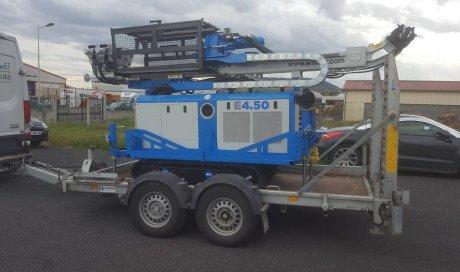 Machine pour études géotechniques à Clermont-Ferrand et sa région