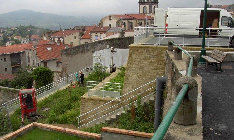 Murs de soutènement à Clermont-Ferrand et sa région